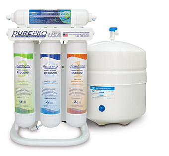 Purepro 174 Quick Change Reverse Osmosis Water Filter Systems