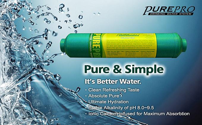 Ph Balanced Drinking Water Filter