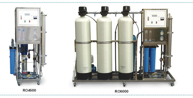 Purepro 174 Industrial Reverse Osmosis Water Filter Systems